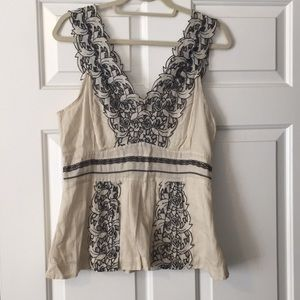 Size 10 Anthropologie top